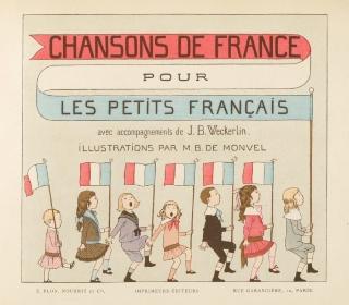 『小さなフランス人のためのフランスの歌』